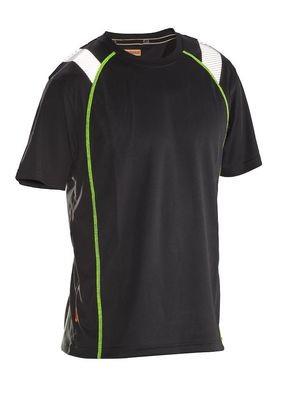 T-Shirt Spun-Dye Vision schwarz / gelb