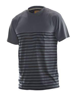 T-Shirt Dry-Tech™ Bamboo grau / schwarz