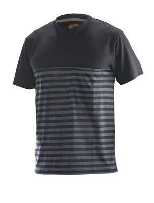T-Shirt Dry-Tech™ Bamboo schwarz / grau