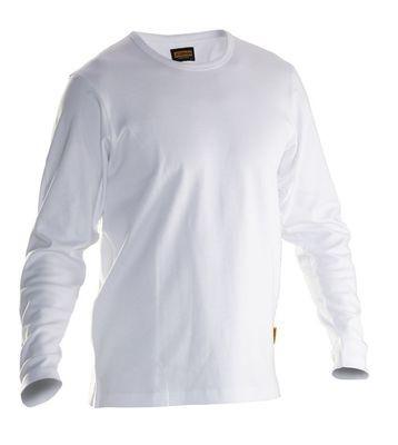 Langärmliges T-Shirt weiss