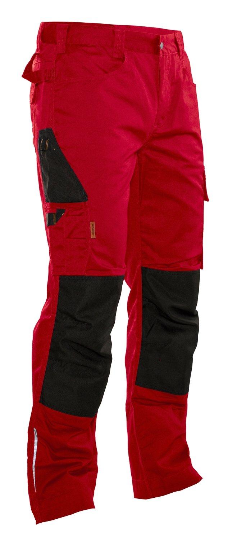 Bundhose rot / schwarz