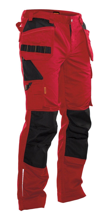 Bundhose mit Holstertaschen rot / schwarz