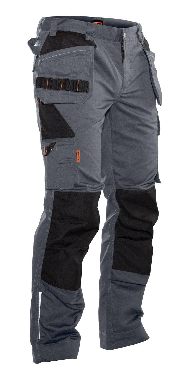 Bundhose mit Holstertaschen grau / schwarz