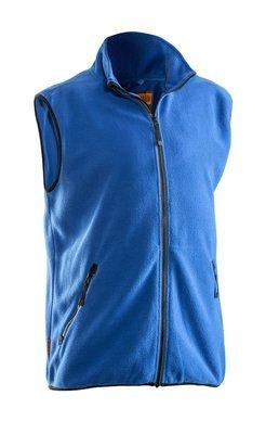 Fleece Weste blau