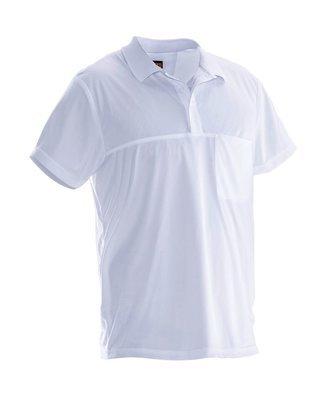 Poloshirt  Spun Dye weiss