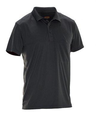 Poloshirt  Spun Dye schwarz