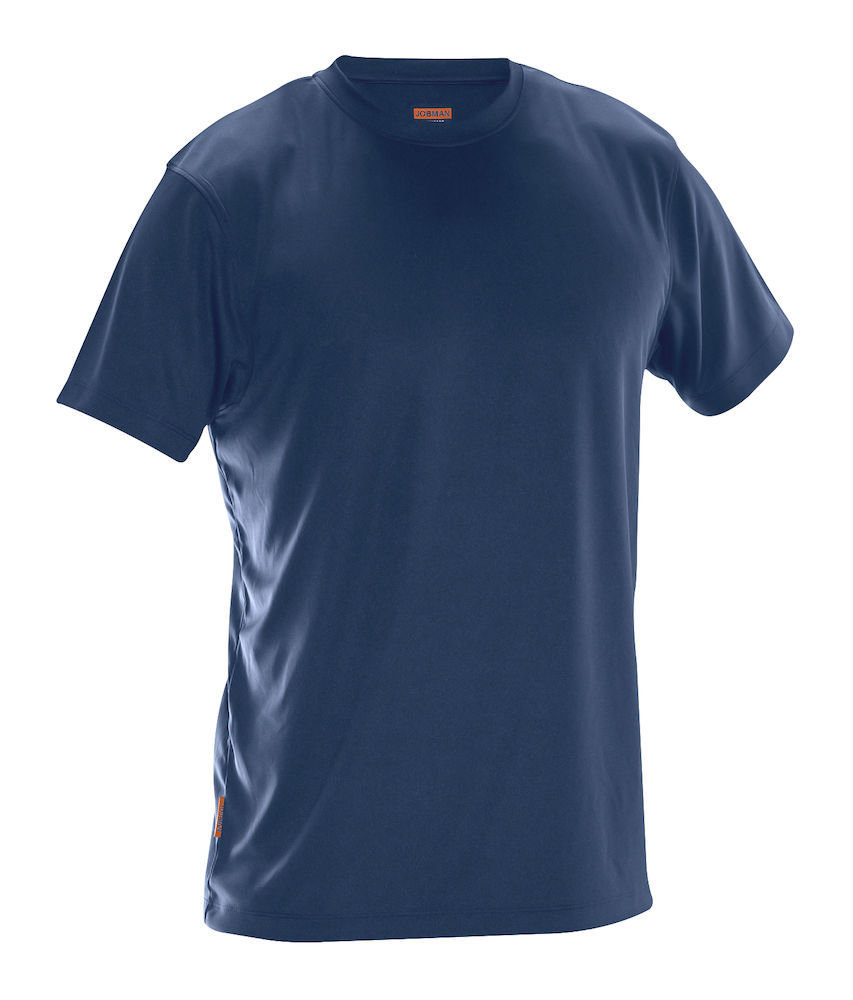 5er Pack T-Shirt Spun Dye marineblau