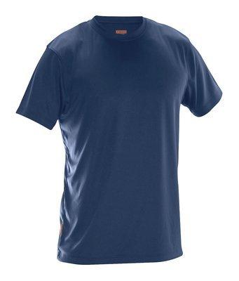 T-Shirt Spun Dye marineblau