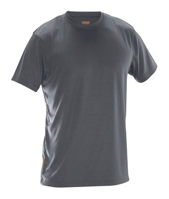T-Shirt Spun Dye dunkelgrau