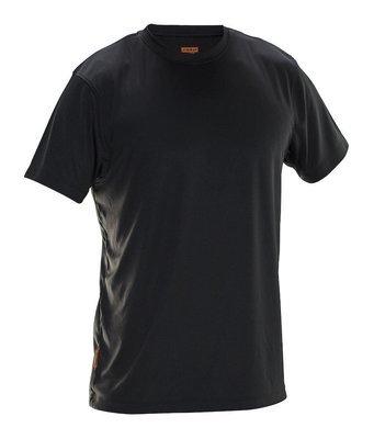 T-Shirt Spun Dye schwarz