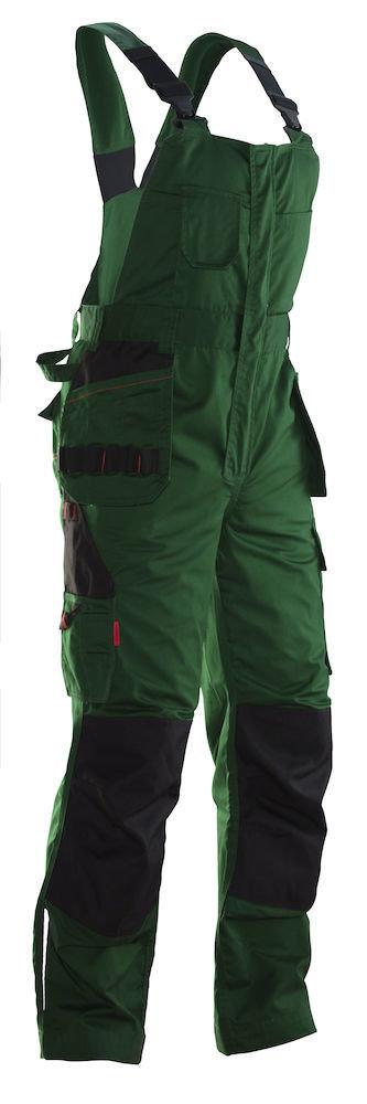 Latzhose grün