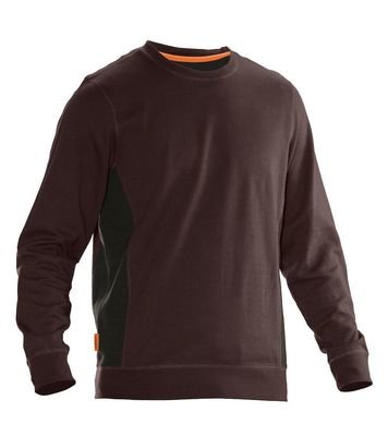 Sweatshirt braun