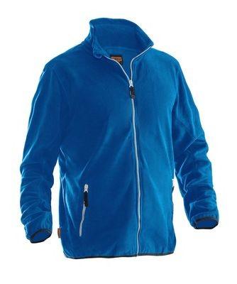 Microfleece Jacke blau