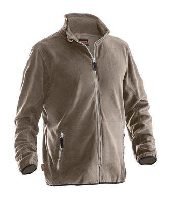 Microfleece Jacke khaki