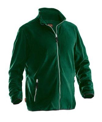 Microfleece Jacke grün