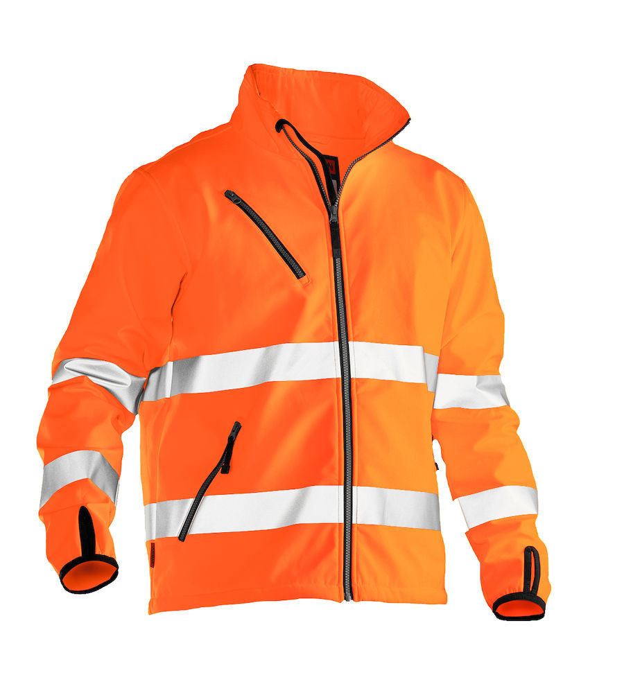 Softshell Jacke Hi-Vis orange