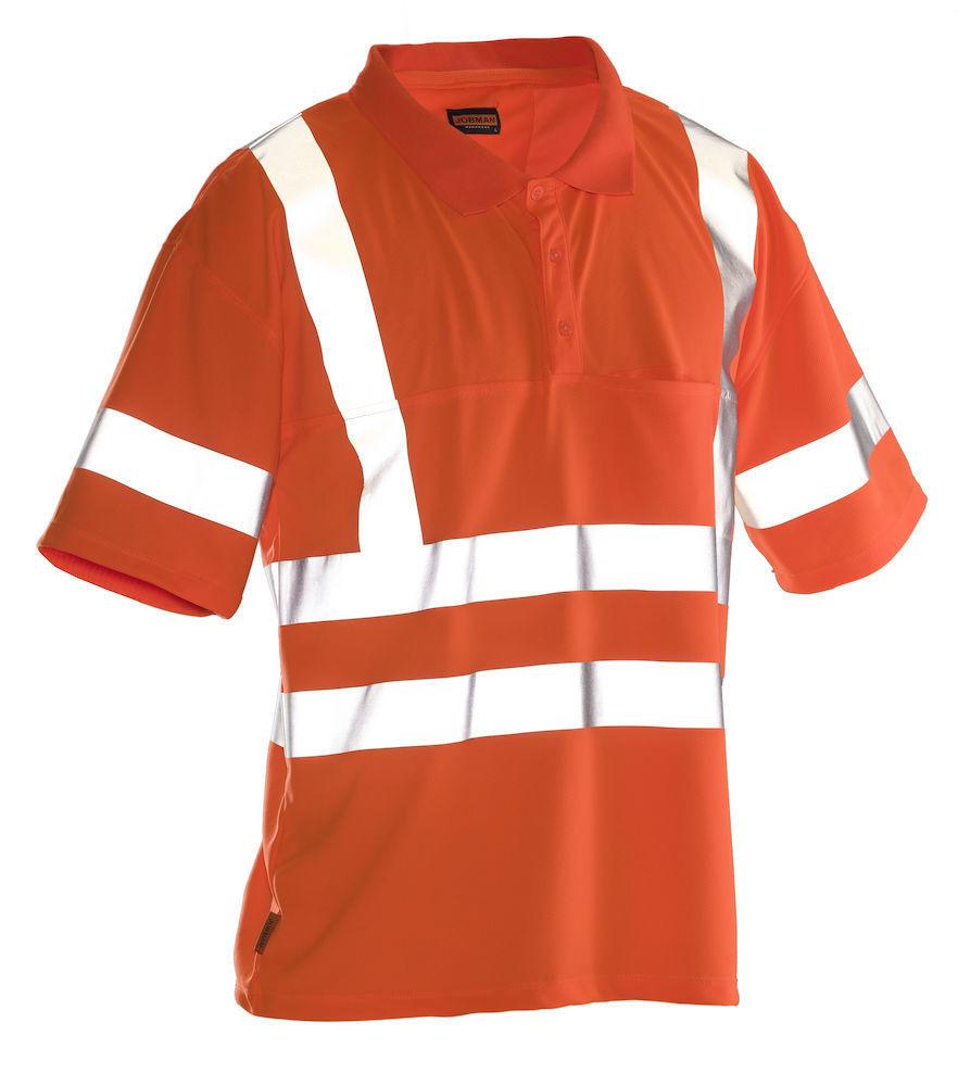 Poloshirt  Hi-Vis orange