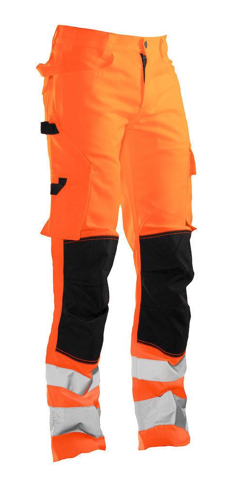 Bundhose Hi-Vis orange / schwarz
