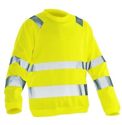 Sweatshirt Hi-Vis gelb