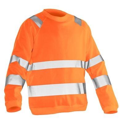 Sweatshirt Hi-Vis orange
