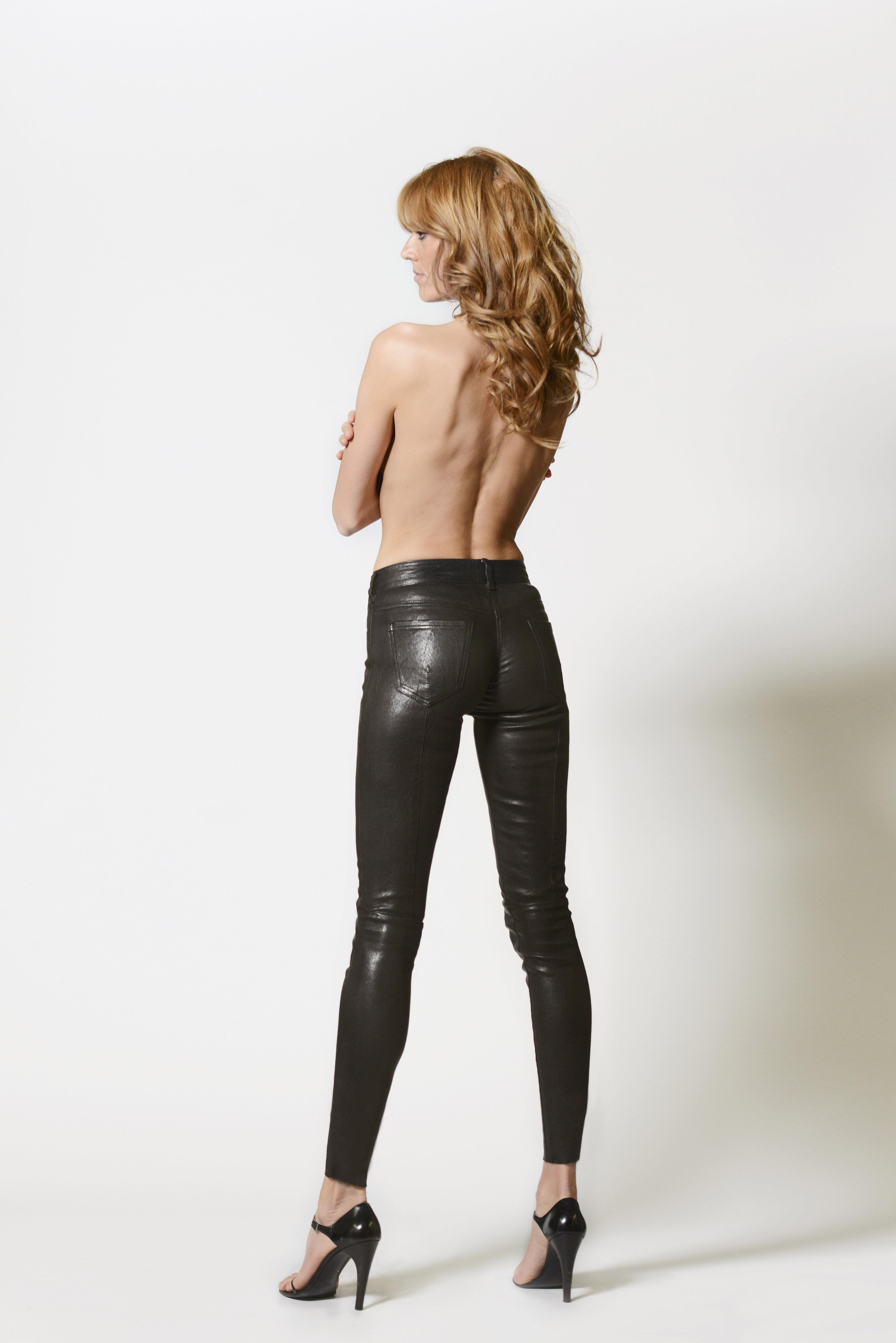 Washable Leather Leggings