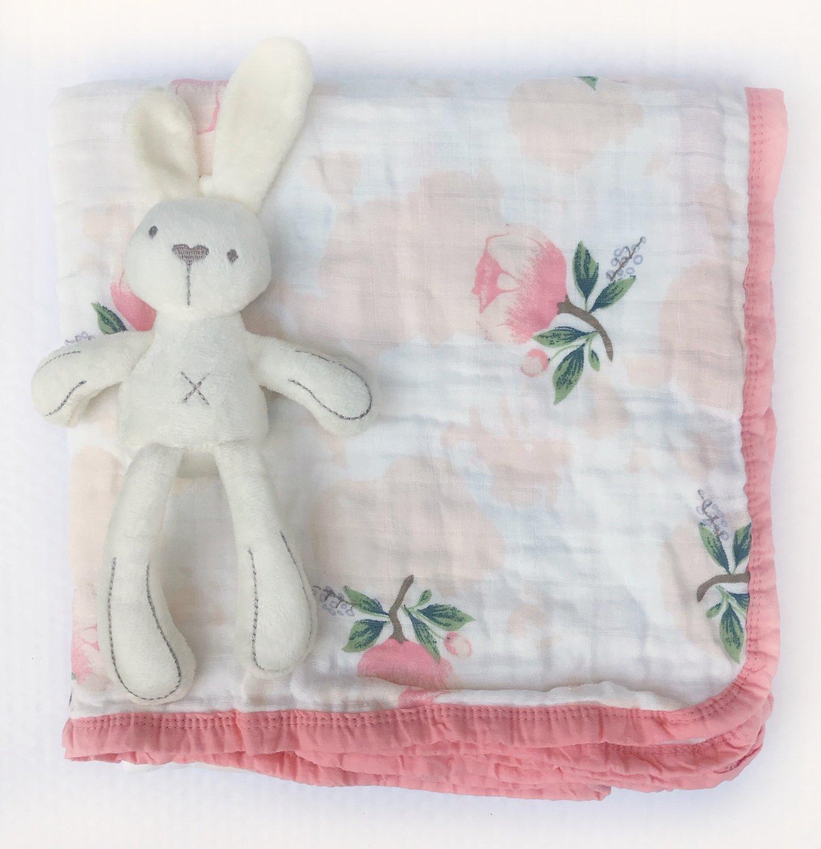Муслиновое одеяло «Пионы»