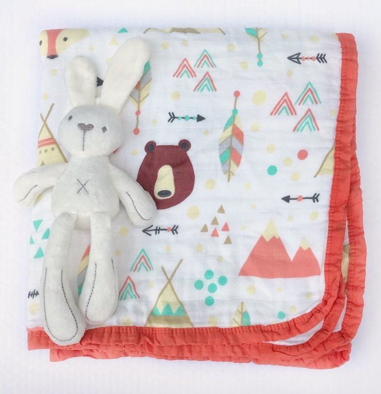Муслиновое одеяло «Индейцы»