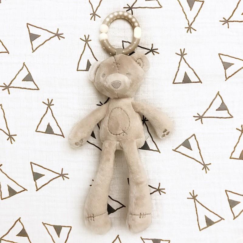 Игрушка «Мишка-погремушка»