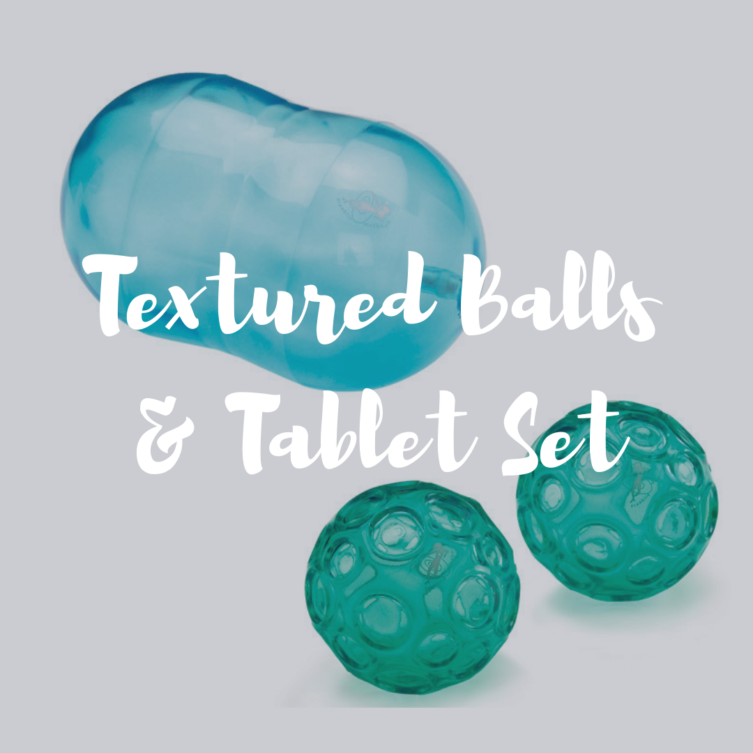 Textured Ball & Tablet Set 00093