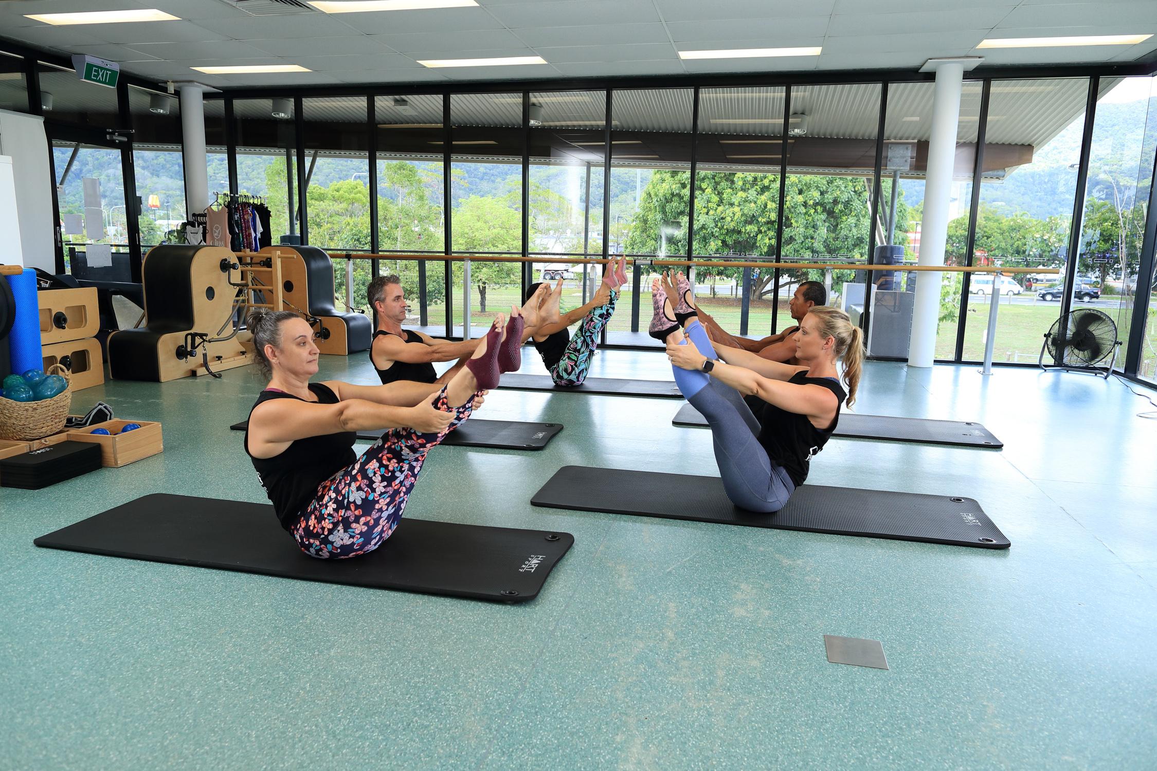 10 x Mat Pilates Class 00041