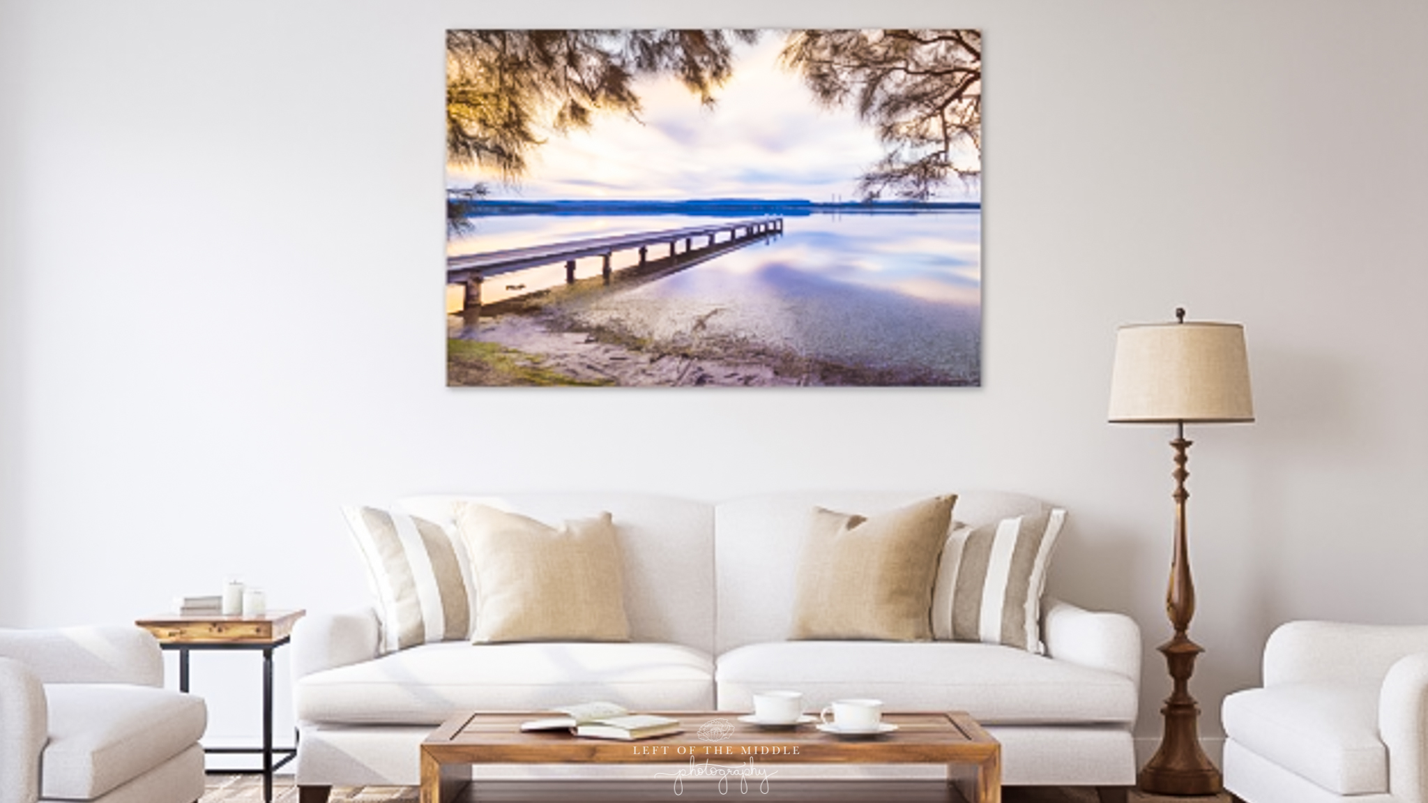 Bonnells Bay Jetty Framed