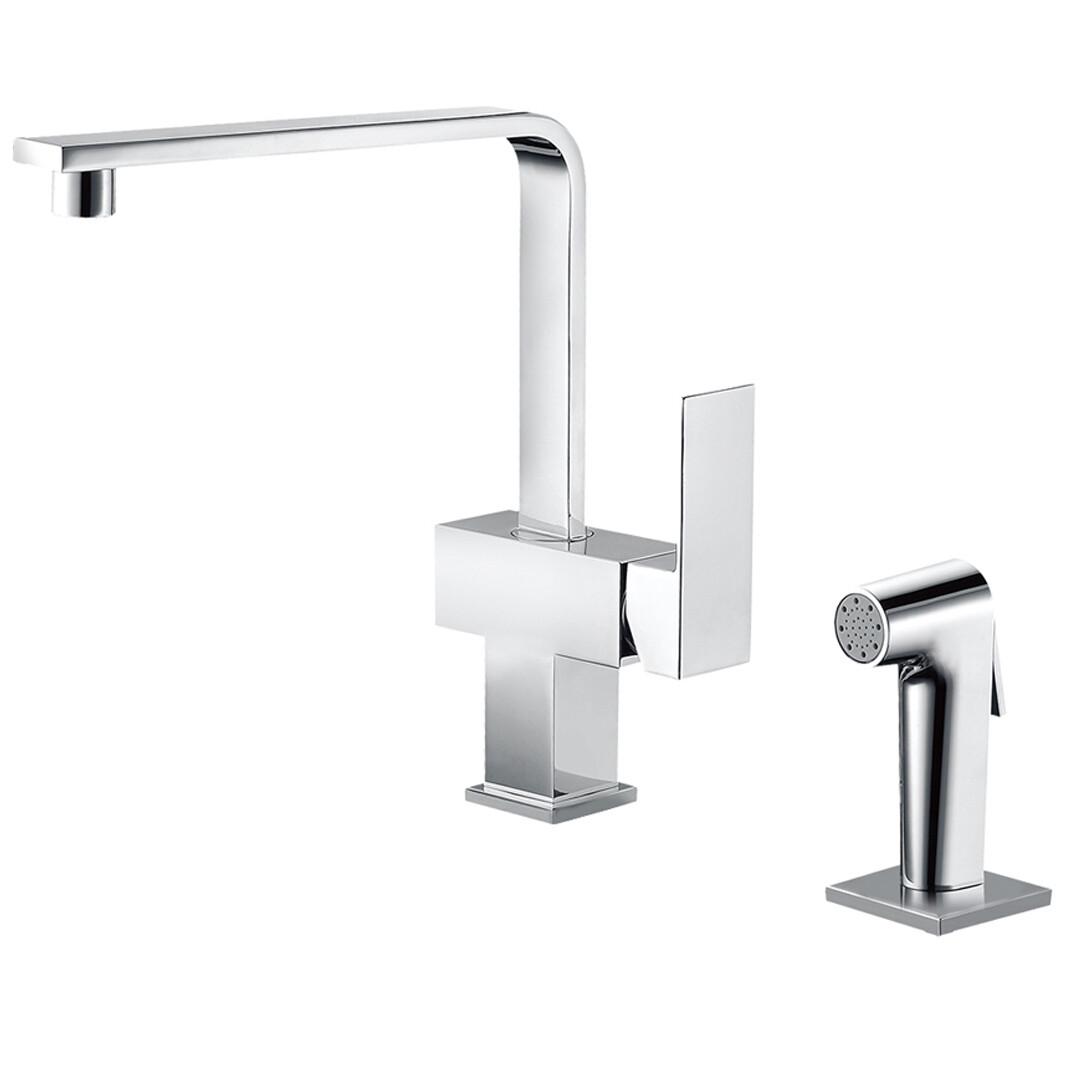 Dual-function sink mixer