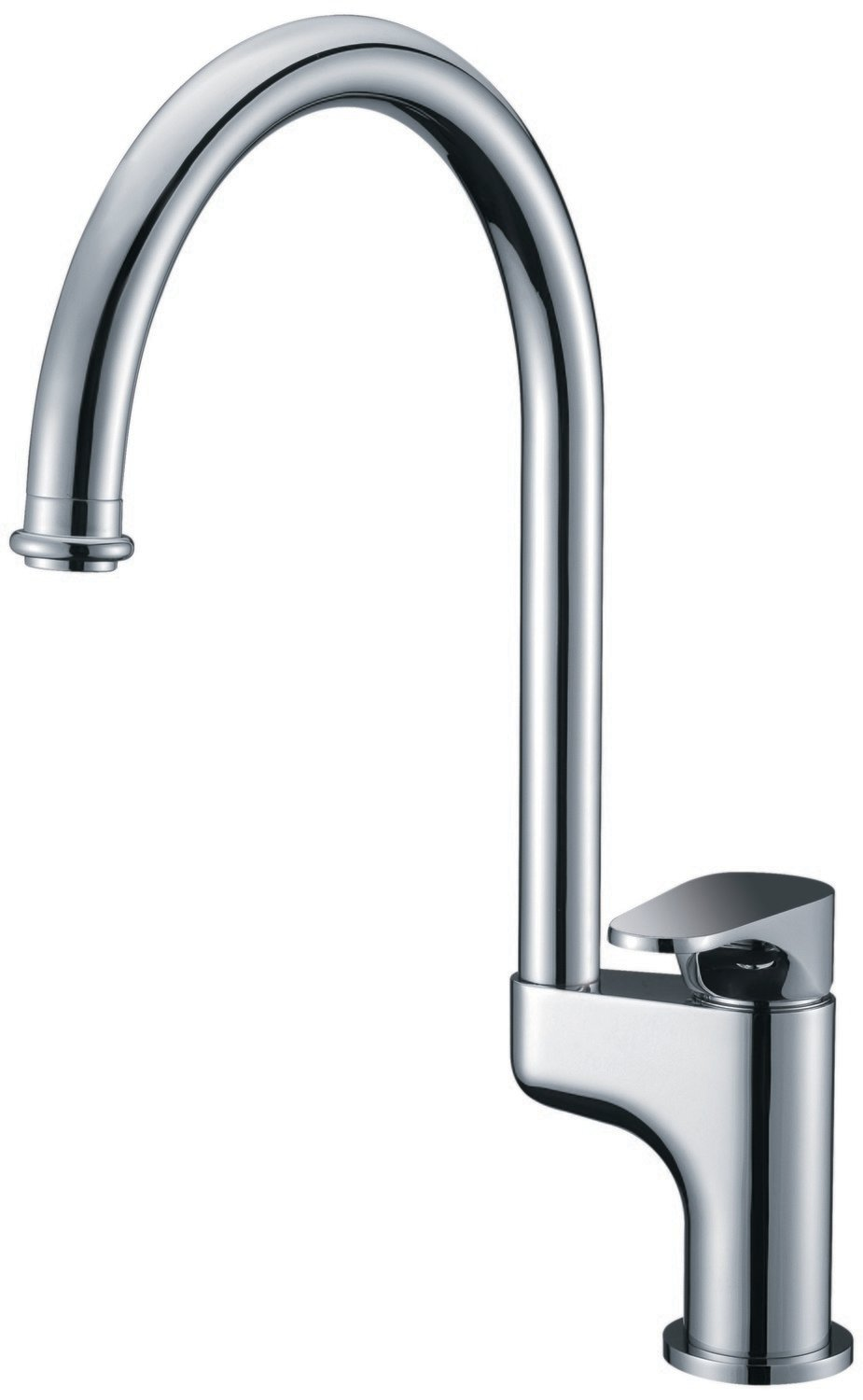 Single-lever kitchen faucet