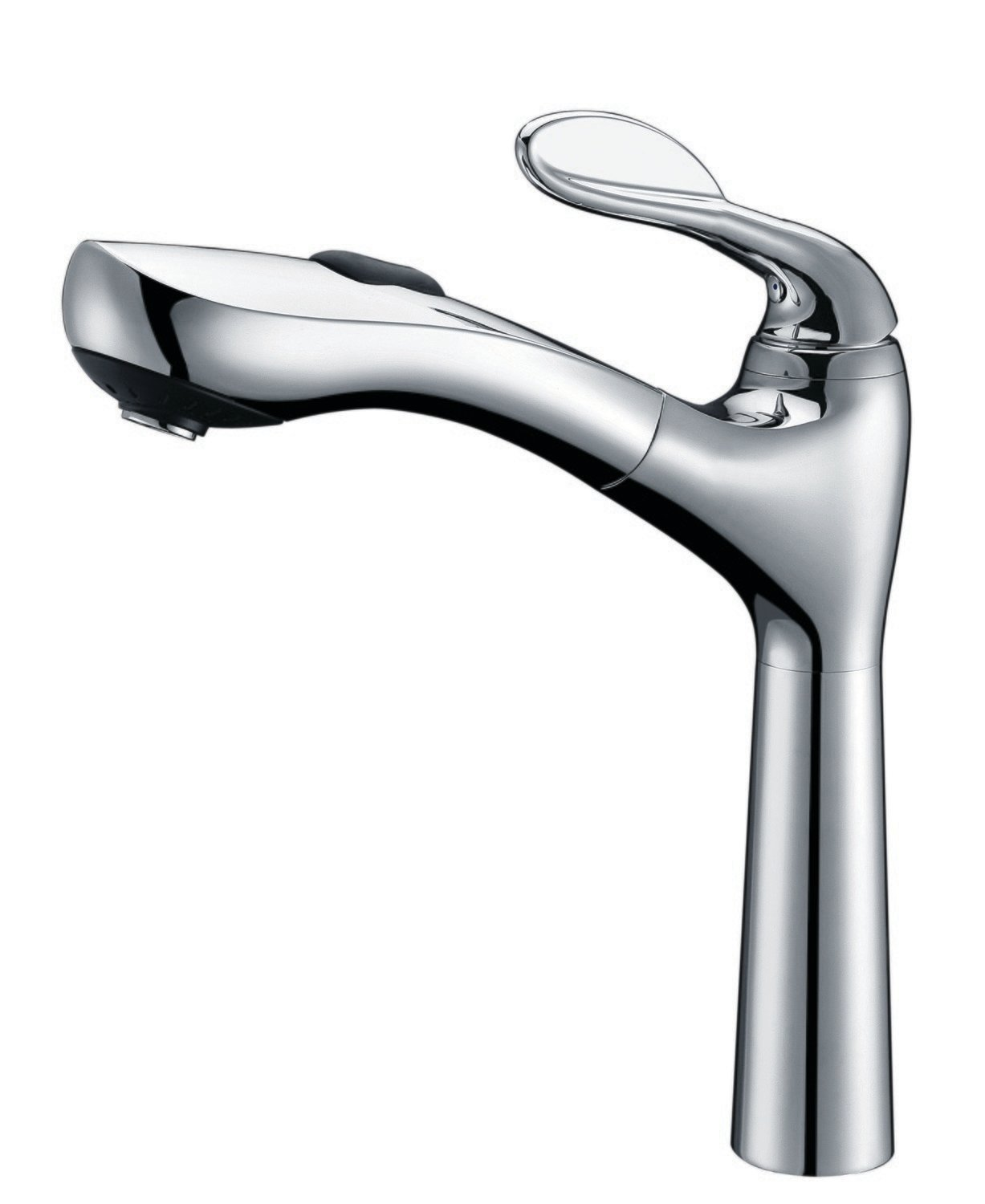 Single-handle pull-out kitchen faucet