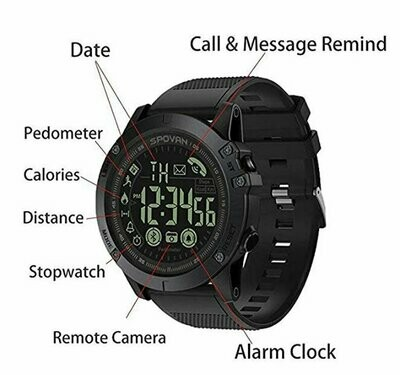 T1 Tact Military Grade Super Tough Smart Watch