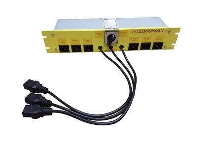Manual Transfer Switch 6kW 2U 19
