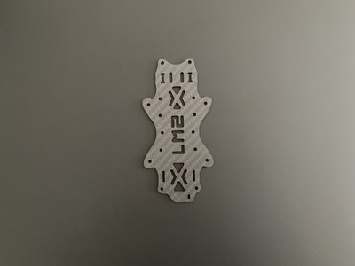 Bottom Plate LM2 V2 25mm