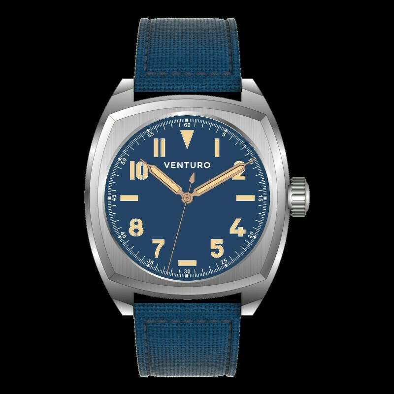 Venturo Field Watch #2 Blu / Blue Preordine / Preorder