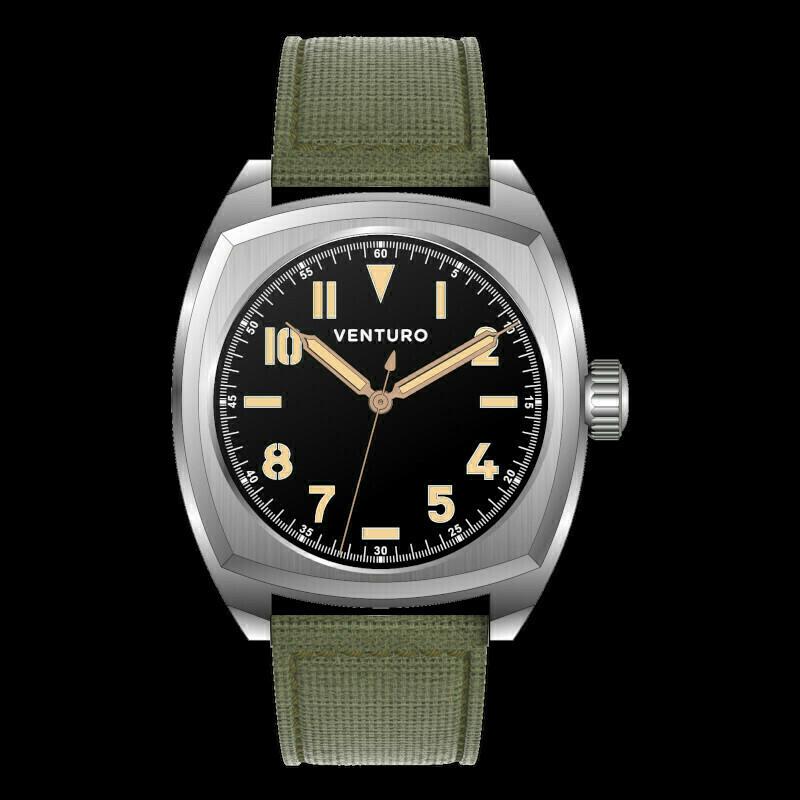 Venturo Field Watch #2 Nero / Black Preordine / Preorder