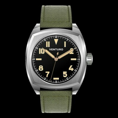Venturo Field Watch #2 Nero / Black Preordine / Preorder