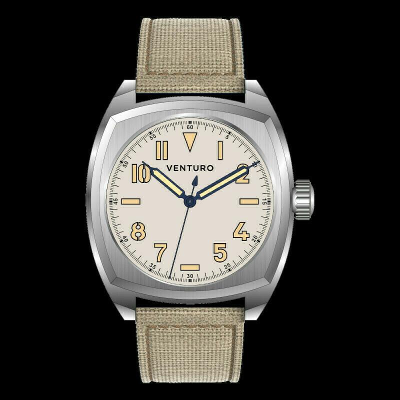 Venturo Field Watch #2 Crema / Cream Preordine / Preorder