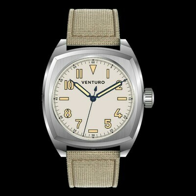 Venturo Field Watch #2 Crema / Cream Preordine / Preorder