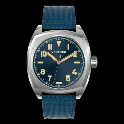 Venturo Field Watch #2 Blu sunburst / Blue Sunburst Preordine / Preorder