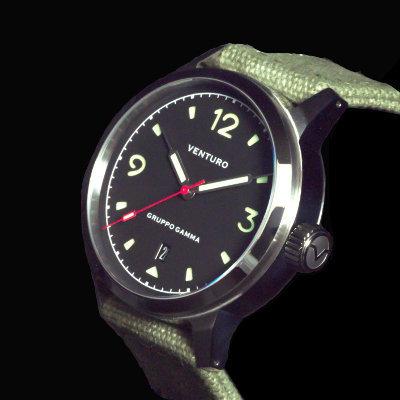 Venturo Field Watch #1 Nero / Black