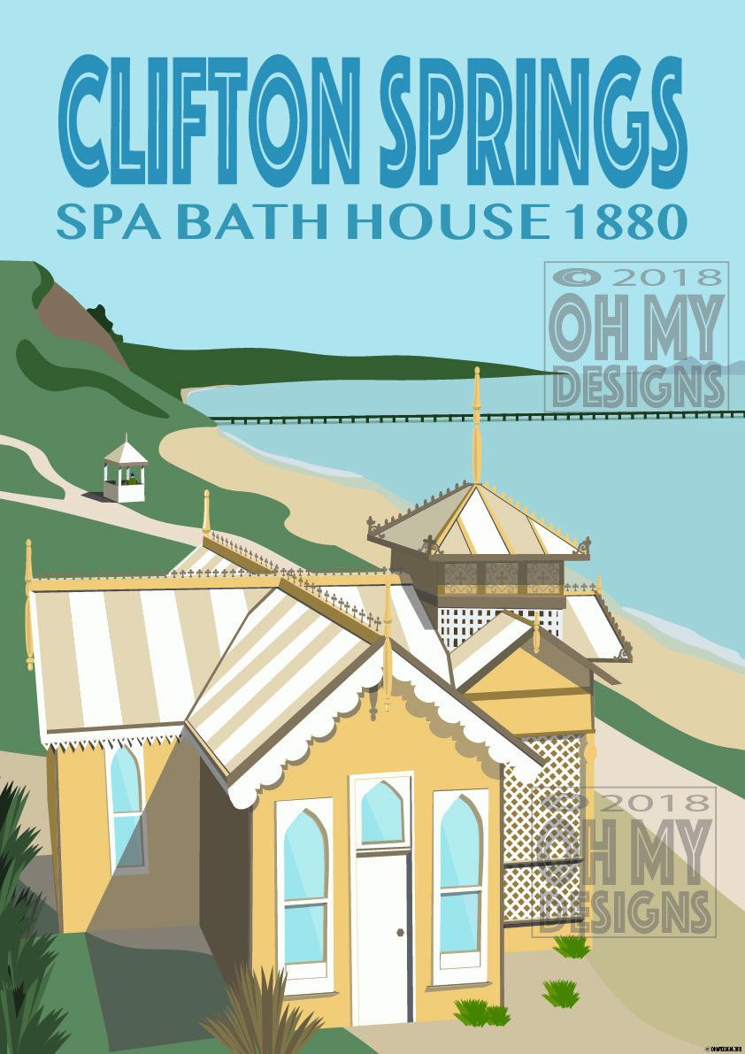 Clifton Springs - Spa Bathhouse CS-BH