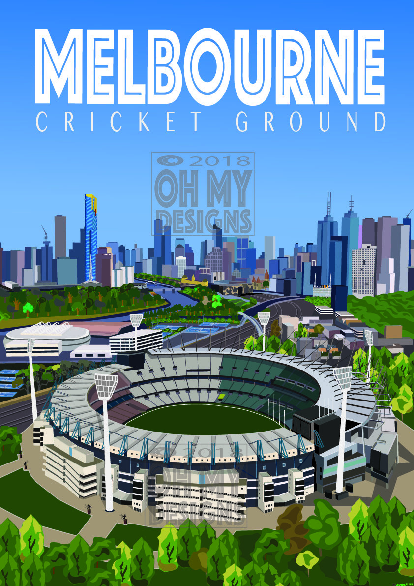 Melbourne - Melbourne Cricket Ground ME-CG