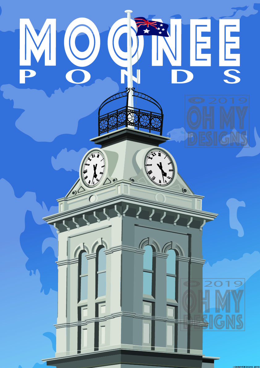 MOONEE PONDS - Clock Tower MO-CT