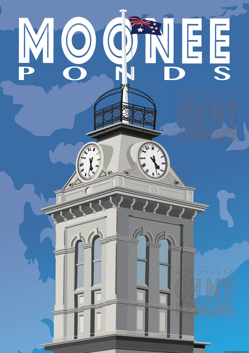 MOONEE PONDS - Clock Tower