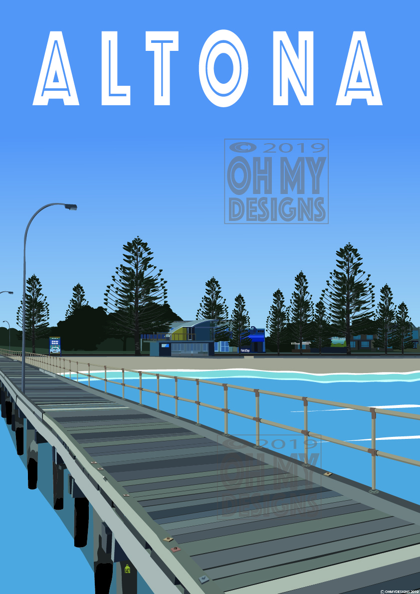 NEW! Altona Beach Pier AL-PI