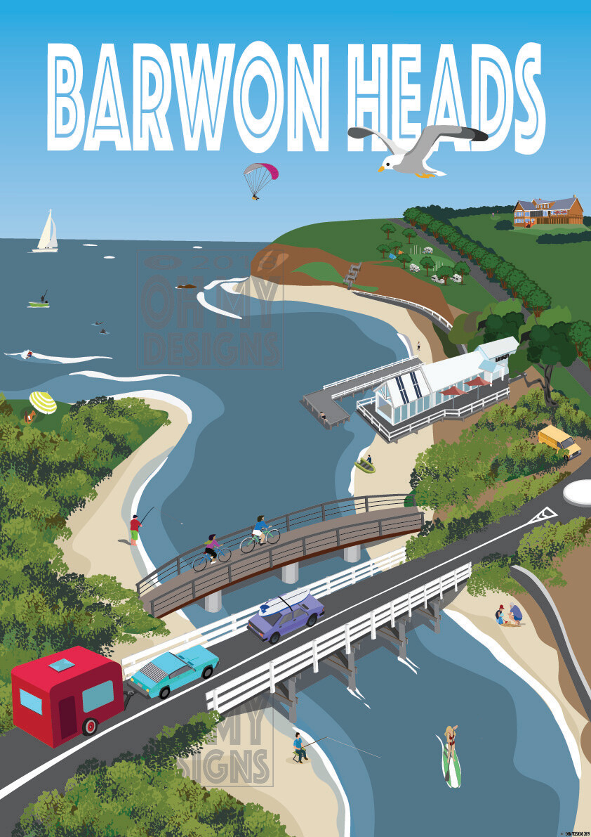 BARWON HEADS - Bridge to Bluff